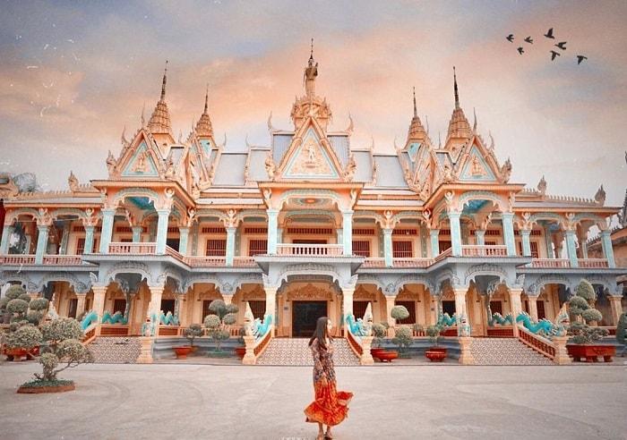 Vẻ đẹp của chùa