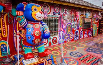 Làng Cầu Vồng - điểm đến cho các tín đồ sống ảo tại Đài Loan